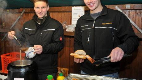 Hauptsache heiß: Im Fischacher Ortsteil Aretsried findet am Wochenende ein Christkindlesmarkt statt.