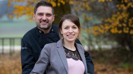 Marc und Manuela Schumacher sind die neuen Pächter des alten Hotel Post in Zusmarshausen.