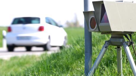 """Alle 3,2 Minuten hat es während der Kontrollen """"geblitzt"""". Die Gemeinde Heretsried hofft nun, dass die Temposünder etwas lernen."""