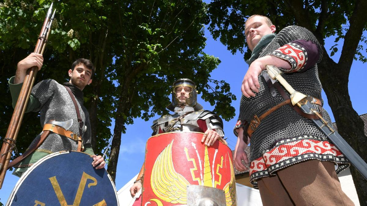In Gablingen sind die Römer sind zurück
