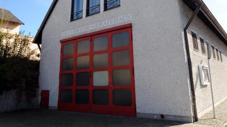 Was wird aus dem alten Feuerwehrhaus? Fragen wie diese sollen bei der Dorferneuerung geklärt werden.