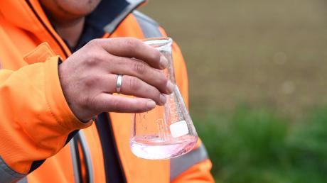 Keime wurden im Gersthofer Trinkwasser gefunden (Symbolbild)