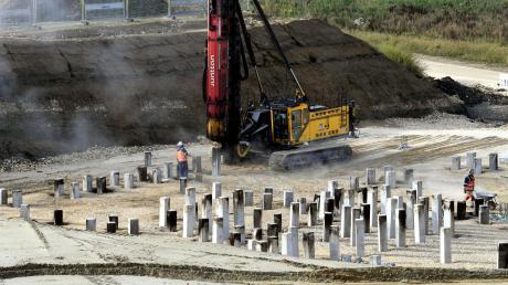 In Zusmarshausen entsteht eine große Stromtankstelle.
