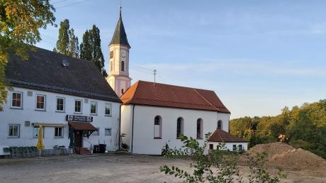 Ein ganz neues Bild bietet sich den Lauterbrunnern. Seit dem Abriss des Stadels hat man einen Blick auf die Pfarrkirche St. Vitus.