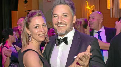 Gerardo Olita und seine Frau Susanne genossen den festlichen Abend auf der Tanzfläche.