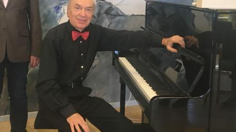 Pianist Ilja Welitschko spielte in Ustersbach.
