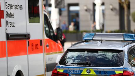 Ein schrecklicher Unfall hat sich am Montag in einem Betrieb in Langweid-Foret ereignet.