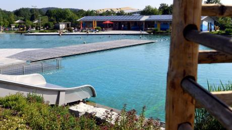 Das Naturfreibad in Fischach gilt als Vorbild für ein ähnliches Projekt in Adelsried.