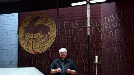Pfarrer Stephan Spiegel leitet die Pfarreiengemeinschaft Neusäß-Aystetten.