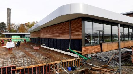 Die Bauarbeiten für die Erweiterung der Anna-Pröll-Mittelschule Gersthofen haben begonnen.