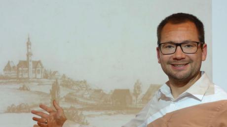 Historiker Felix Guffler präsentierte kaum bekannte Details zum Aufenthalt von Pfarrer Sebastian Kneipp in Biberbach.