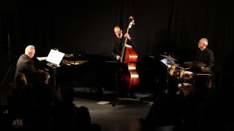 Bernd Haselmann (von links), Andreas Traub und Markus Halder bilden das Trio Mojazzart.