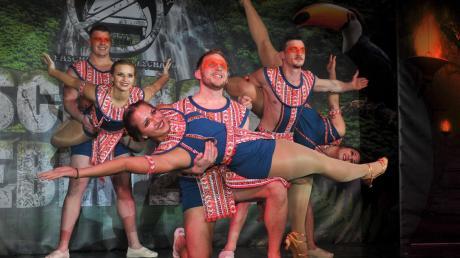 Die Zusamtaler Bettschoner sind bekannt für ihre anspruchsvollen Showauftritte, hier in der vergangenen Saison.
