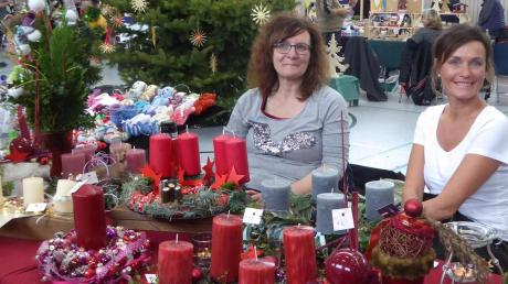 Sonja Jenewein und Heike Schwarzer haben es im Advent gerne klassisch.