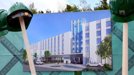 400 Betten soll das Select-Hotel im Güterverkehrszentrum haben. Das wären dann rund zehn Prozent aller Fremdenverkehrsbetten im landkreis.