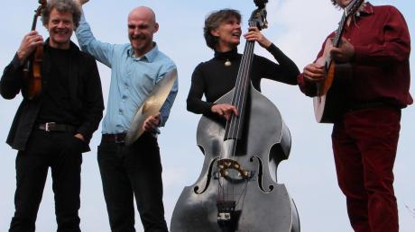 """Das Quartett """"Vallesanta Corde"""" spielt Musik aus vielen verschiedenen Ländern."""