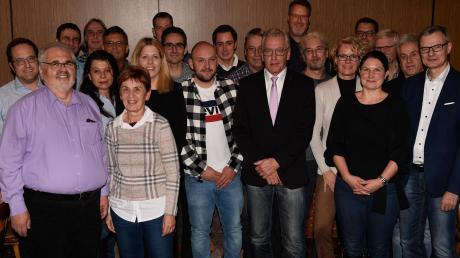 Die Kandidaten der Liste CSU/Unabhängige Wähler in Bonstetten stehen nun fest.