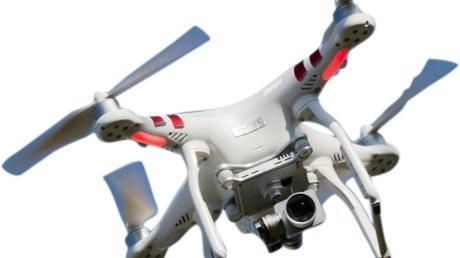 Ein Drohne verschreckte in Fischach mehrere Pferde.