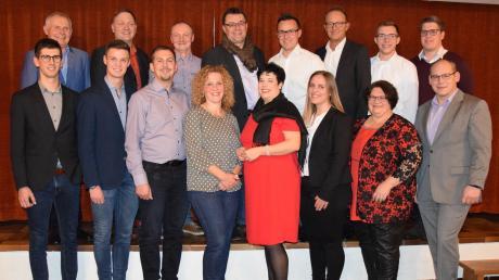 Die CSU-Mannschaft in Welden hat ihre Kandidaten für die anstehende Wahl vorgestellt.