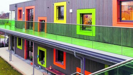 Die Erweiterung der Kindertagesstätte Via Claudia in Gersthofen ist eröffnet.