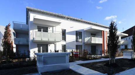 Die ersten Wohnungen des neuen Wohnquartiers in Horgau werden am heutigen Mittwoch bezogen. Darin leben künftig Studenten, Senioren, Alleinerziehende, aber auch Menschen mit Behinderung.