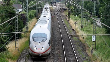 Die künftige Bahntrasse zwischen Augsburg und Ulm bleibt auch in Horgau in der Diskussion.