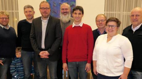Sie finden, Bürgermeister Jürgen Gilg ist eine gute Wahl für alle Fraktionen (von links): Karl Jakob, Carl Köhne, Jürgen Gilg, Peter Stuhlmüller, Gregor Birle, Günter Klein, Ludwina Peter und Christian Herfert.