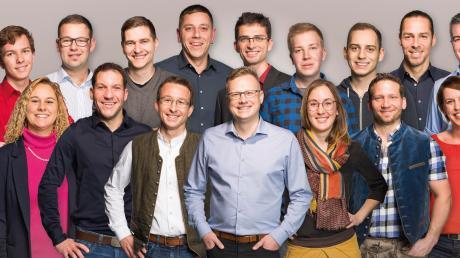Sie sind die jetzt nominierten Gemeinderatskandidaten der Jungen Bürger Gablingen.