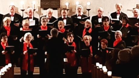 Das Konzert des Singkreises Deuringen war sehr gut besucht.