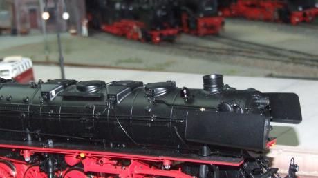In diesem Jahr stehen Dampflokomotiven im Mittelpunkt der Ausstellung des Modelleisenbahnclubs Neusäß im Bahnhof Westheim.