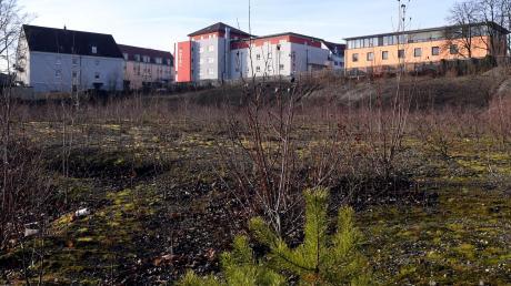 Noch gehört das Gersthofer Loch einem Augsburger Investor. Aber bald soll Bürgermeister Michael Wörle den Kaufvertrag unterschreiben.