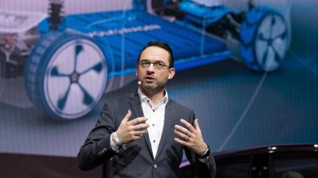 Christian Senger ist Digital-Vorstand des Autobauers Volkswagen.