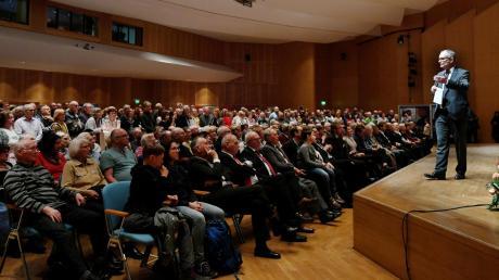 Mehr als 600 Gäste kamen nach Zählung der Gersthofer Stadtverwaltung zum Neujahrsempfang in die Stadthalle.
