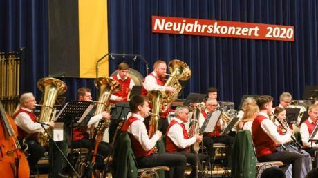 Tobias Mittelmaier glänzte als Solist bei Farmer's Tuba.