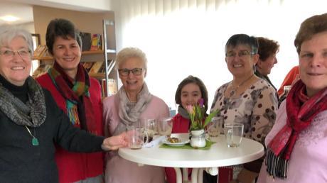 Ein gutes und freundliches Miteinander erleben die Besucher des Ellgauer Kirchencafés.