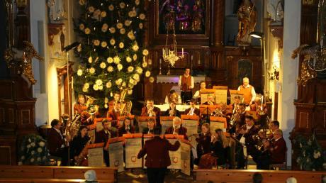 Nach mehreren Jahren begeisterte der Musikverein Gablingen wieder mit einem Kirchenkonzert.