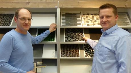 Ludwig Streit (links) und sein Bruder Stefan führen seit diesem Jahr die Ludwig Streit Sanitär- und Heizungstechnik GmbH ohne Vater Ludwig. Der Gründer der Firma war Großvater Ludwig - und zwar im Jahr 1947.
