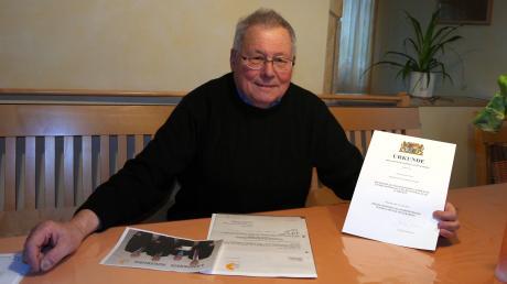 42 Jahre war Helmut Wech im Gemeinderat von Ehingen aktiv. Jetzt verabschiedet er sich.