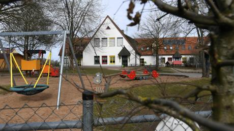 Erweitert werden soll auch der Kindergarten am Reiterweg in Stadtbergen, doch die Ausgangslage dafür ist schwierig.