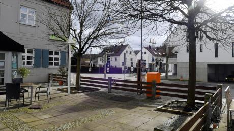 Eines der ersten Projekte des neuen Gemeinderats wird sein: die Neue Mitte in Aystetten.