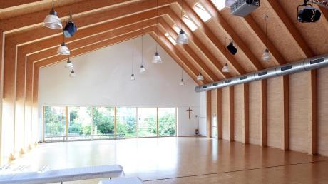 Die Kirchberghalle darf der Allmannshofer Kindergarten weiterhin nutzen, der Neubau bekommt aber auch einen eigenen Mehrzweckraum.