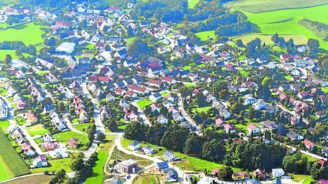 Idyllisch gelegen ist Bonstetten und damit ein gefragter Wohnort. Eine neue Ortsmitte soll die Gemeinde noch attraktiver machen.