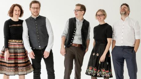 Das Ensemble Luz amoi kommt am kommenden Freitag, 6. März, nach Zusmarshausen und präsentiert sein neues Programm.