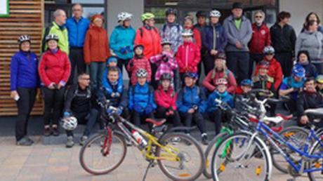 Großen Spaß gemacht haben den Gästen aus Nove Straseci und den Weldenern die Radtouren durch die Westlichen Wälder.