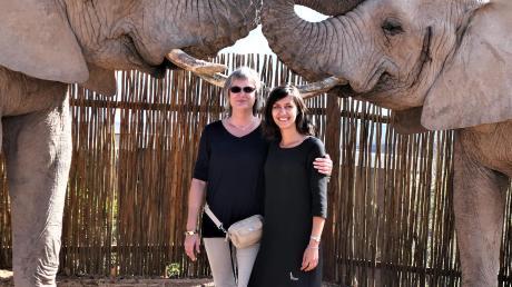 Stephanie Fitz (links) plant Golfreisen nach Südafrika, nach Kundenwunsch auch mit anderen Ausflügen.