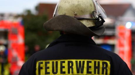 In Weilheim brannte es am Freitag auf einer Dachterrasse.