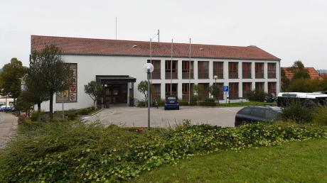 Das Rathaus von Zusmarshauser.