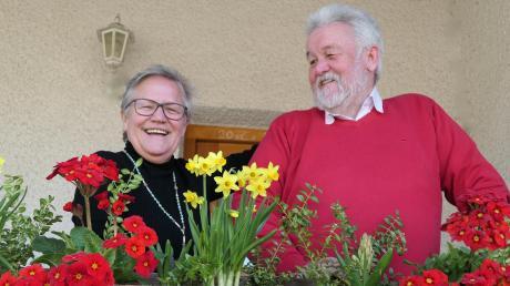 Sie ziehen seit bald 50 Jahren gemeinsam an einem Strang: Christine und Heinz Koutecky.