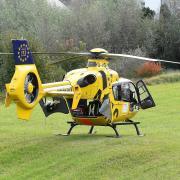 Ein 52-jähriger Leipheimer musste am Samstag mit dem Rettungshubschrauber in ein Krankenhaus geflogen werden.