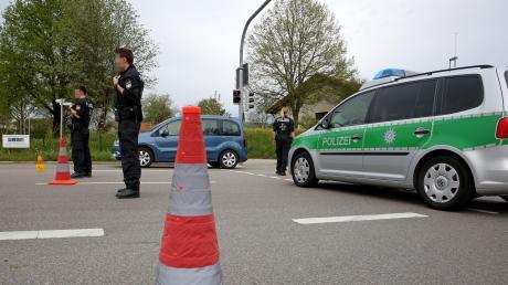 Die Polizei kontrolliert viel im Landkreis Neu-Ulm.